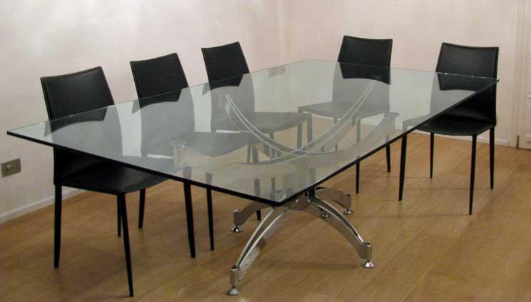 Tavoli in cristallo - Parolin